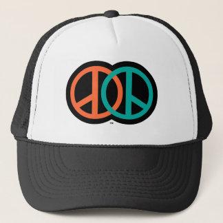 MAKE PEACE TRUCKER HAT