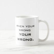 Make people cringe mug