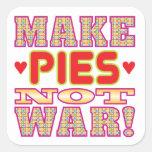 Make Pies v2 Square Stickers