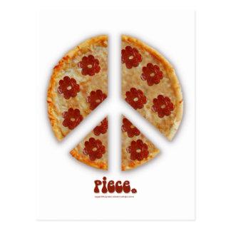 """""""Make Pizza, Not War"""" Postcards"""