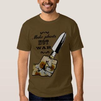 Make Plants,Not War Dictionary Art T-Shirt