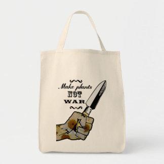 Make Plants,Not War Dictionary Art Tote Bag