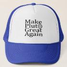 Make Pluto Great Again Trucker Hat