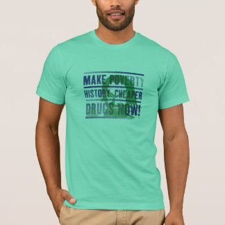 Make Poverty History T shirt