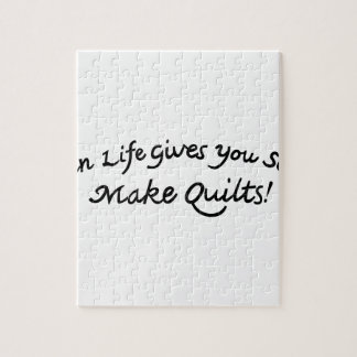 Make Quilts Jigsaw Puzzle