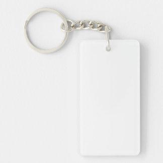Make Rectangle Double Sided Acrylic Keychain