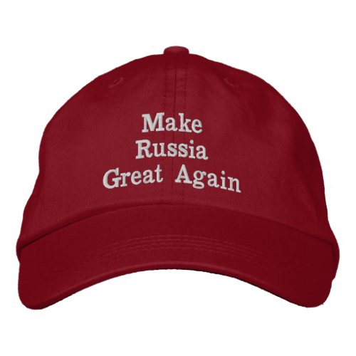 Make Russia Great Again Hat