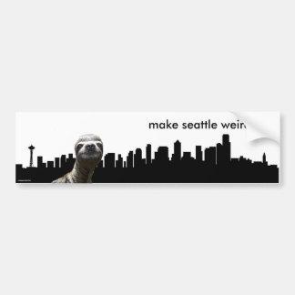 Make Seattle Weirder Bumper Sticker