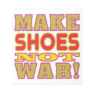 Make Shoes Memo Note Pads