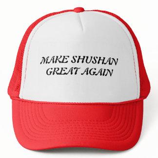 Make Shushan Great Again: The Baseball Cap