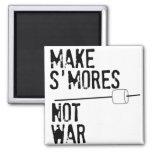 Make S'mores, Not War Refrigerator Magnets
