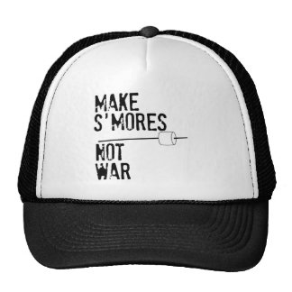 Make S'mores, Not War Trucker Hat