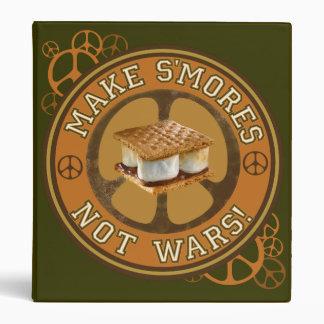 Make S'mores Not Wars Binder