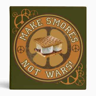 Make S'mores Not Wars Binders