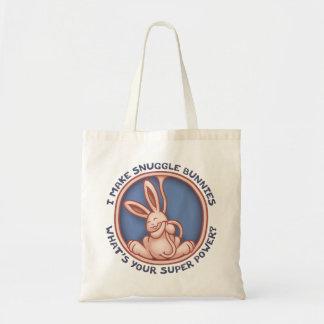 Make Snuggle Bunnies Tote Bag