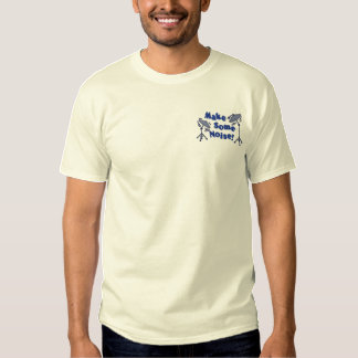 Make Some Noise Cymbals Embroidered T-Shirt