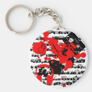 make some noise key chain