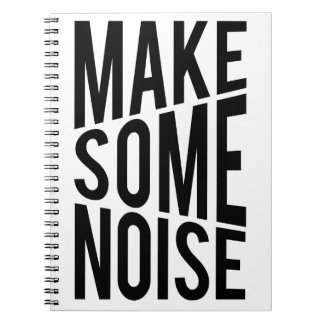 Make Some Noise Spiral Note Books