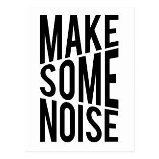 Make Some Noise Postcard