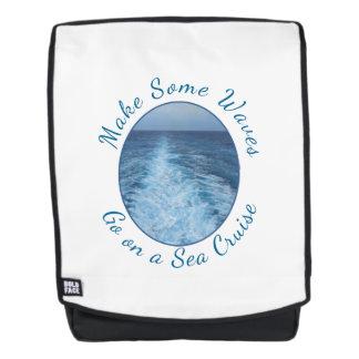 Make Some Waves Sea Cruise Backpack