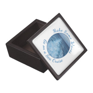 Make Some Waves Sea Cruise Jewelry Box