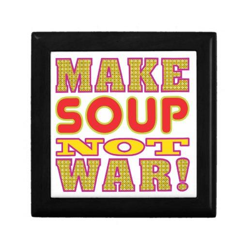 Make Soup Trinket Boxes