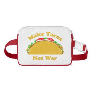 Make Tacos Not War Waist Bag