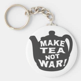 Make Tea Not War! Keychain