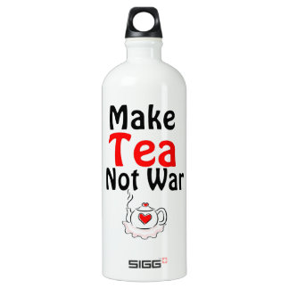 Make tea not war SIGG traveler 1.0L water bottle