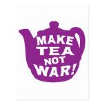 Make Tea Not War v11 Post Cards