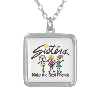 Make the Best Friends Silver Plated Necklace