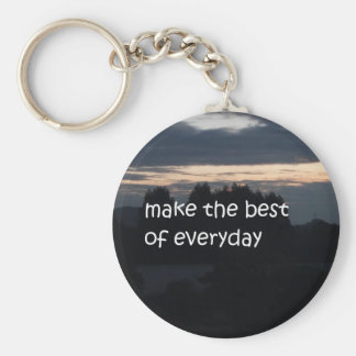 make the best of everyday keychain