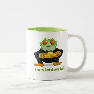 Make the best.. Two-Tone coffee mug