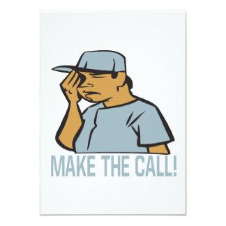 Make The Call Card