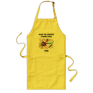 Make The Creative Connections Think (Neuron) Aprons