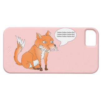 Make the fox say whatever you like iPhone SE/5/5s case