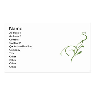 Make the Grass Greener Business Cards