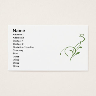 Make the Grass Greener Business Card