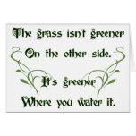 Make the Grass Greener Cards