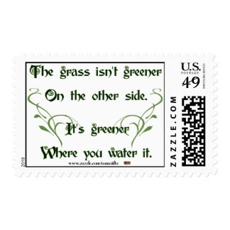 Make the Grass Greener Postage