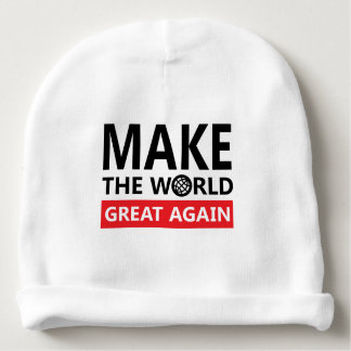 make the world great again baby beanie