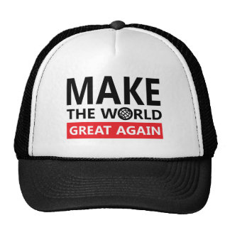 make the world great again trucker hat