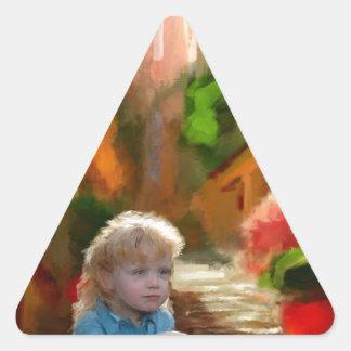 make them yours triangle sticker