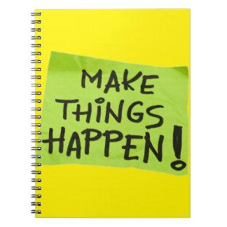 Make Things Happen! Notebook