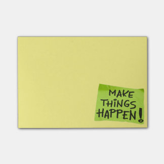 Make Things Happen! Post-it Notes