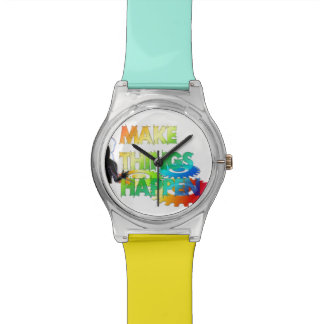 Make Things Happen Wrist Watches