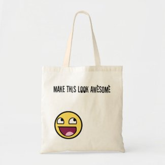 Make This Look Awesome Tote bag