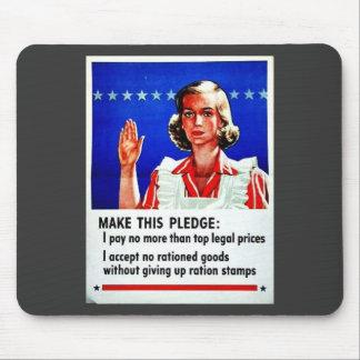 Make This Pledge Mousepad