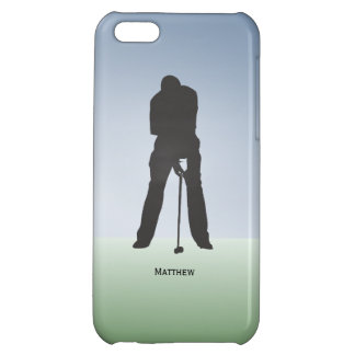 Make This Putt Mens Golf Custom Name Cover For iPhone 5C