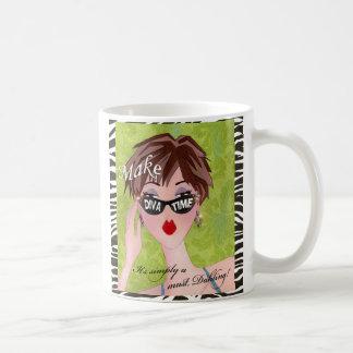 Make Time! Diva Lime mug